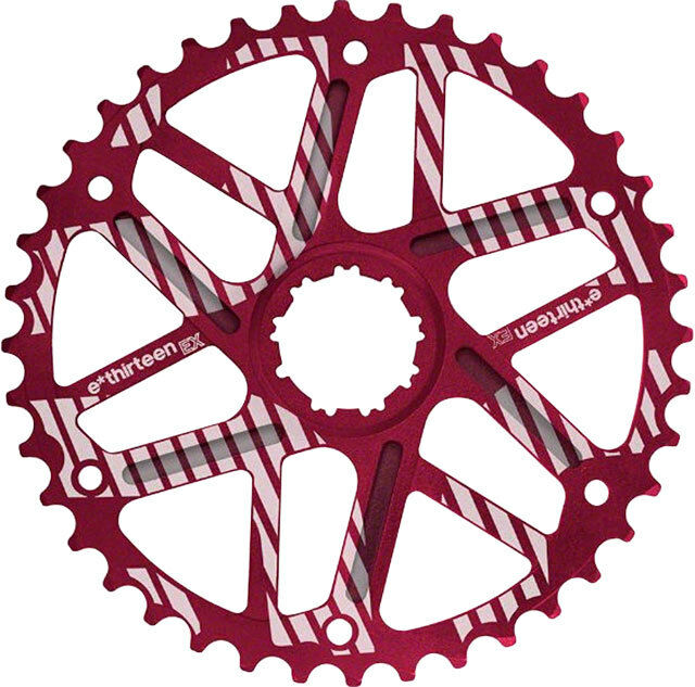New ethirteen Extended Range Cog  40t Shimano 34t Compatible Red  cheap and top quality
