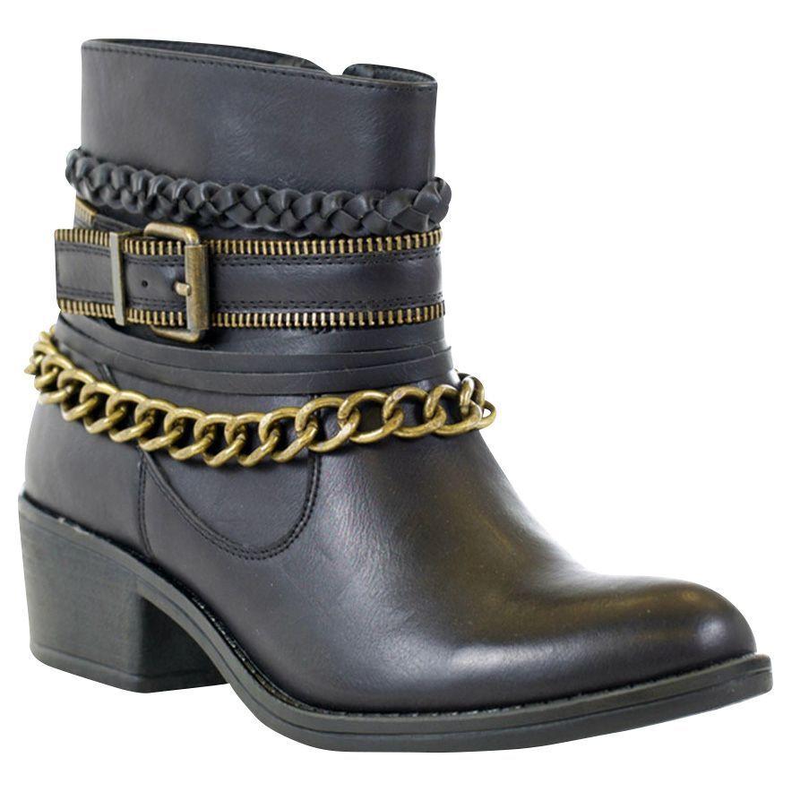 Women's GC Shoes Ranger Bootie Black Size 9.5 #NJCG5-425