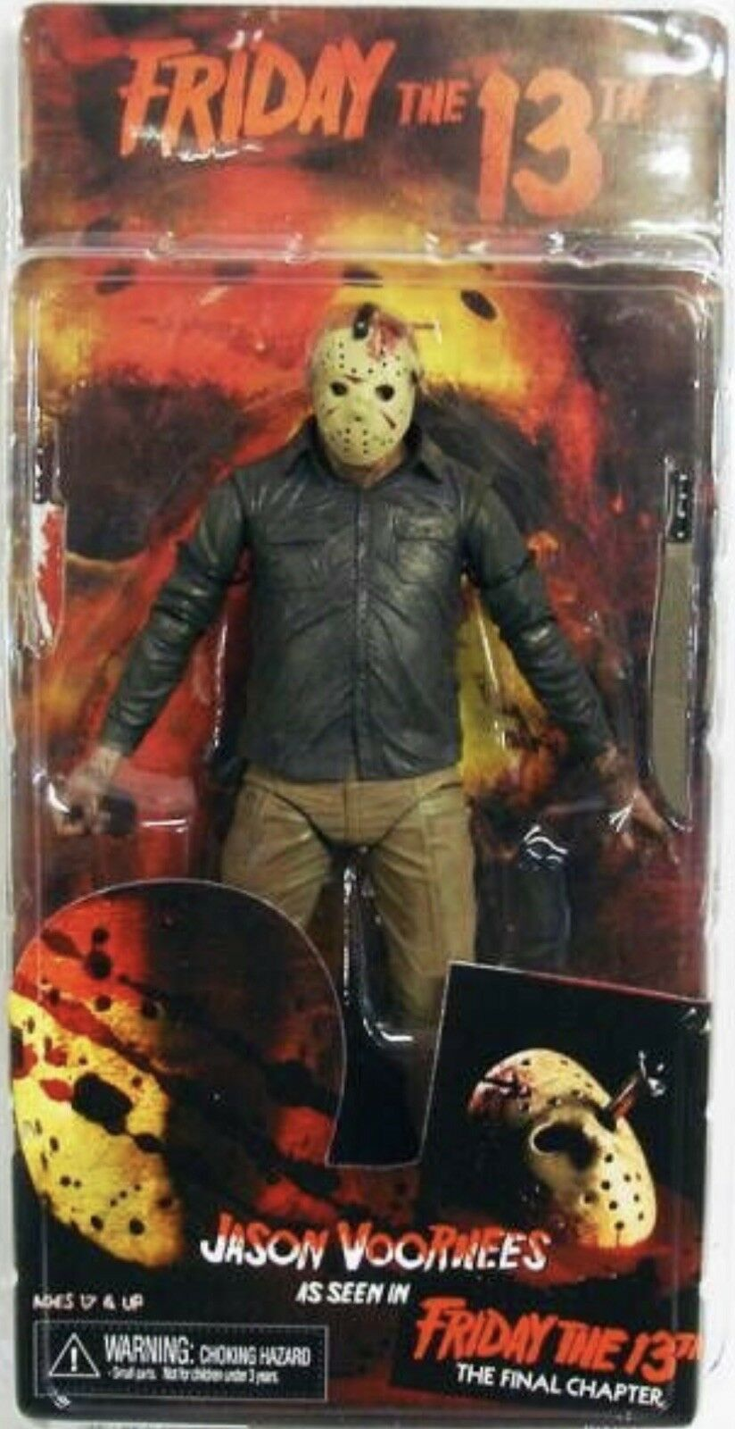 NECA Friday The 13th il capitolo finale Jason Voorhees HORROR 6 Pollici Figura SIGILLATO