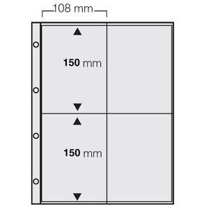 5-x-A4-FOTOHULLEN-SAMMELHULLEN-POSTKARTENHULLEN-KARTENHULLEN-120-my-4x-10x15-CM