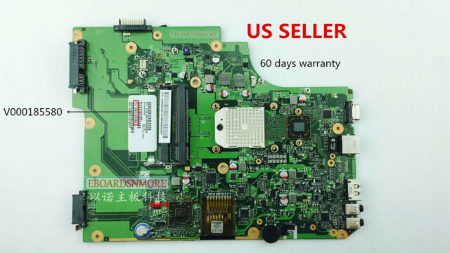V000185580 AMD Motherboard for Toshiba Satellite L505 L505D, free cpu, CN Loc, A
