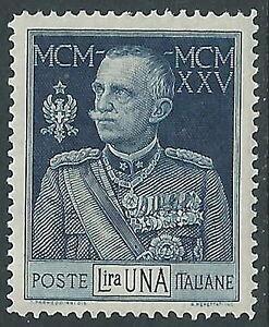 1925-26-REGNO-GIUBILEO-1-LIRA-D-13-1-2-LUSSO-MNH-E51