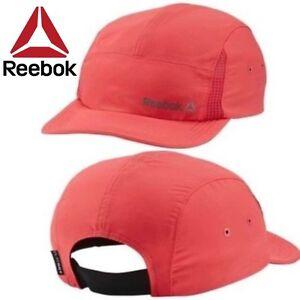bcb97a1852d REEBOK CAP TRAINING WOMENS HAT HEADWEAR RED PINK SIZE OSFW RUN ...