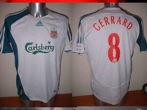 Details about Liverpool Adidas Gerrard Shirt Jersey Soccer Football Adult XL England Trikot