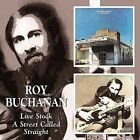 Live Stock/A Street Called Straight by Roy Buchanan (CD, Jul-2006, Beat Goes On)