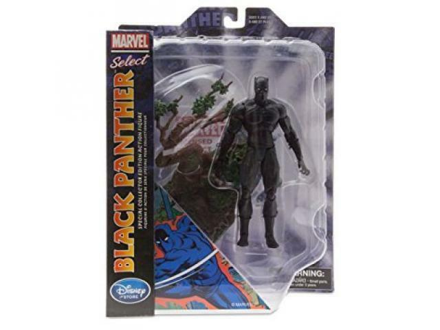 MARVEL MARVEL MARVEL SELECT - schwarz PANTHER - SPECIAL COLLECTOR EDITION ACTION  - (NUEVO MINT) 3f70bf