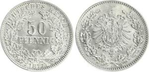 50 Peniques 1877H Raro Mzz. Y Conservación, Fast sin Circulación