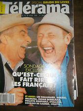 Télérama N° 2097 1990 Qu'est ce qui fait rire les français ? Michael Moore TV