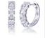 1-15Ct-Round-Cut-VVS1-D-Diamond-Huggie-Hoop-Earring-Solid-14K-White-Gold-Finish thumbnail 5