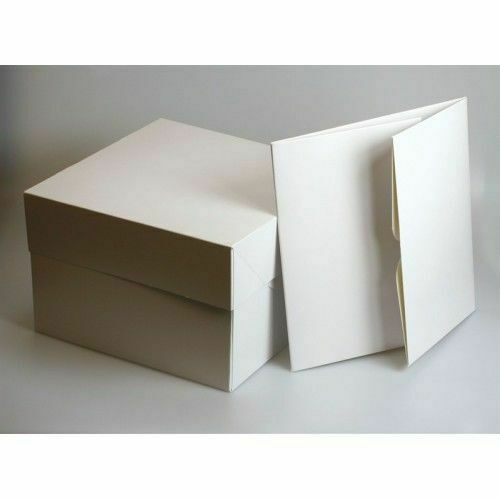 Premium All Sizes Cake Boxes With Removable Lid For Weddings Birthdays /& Parties