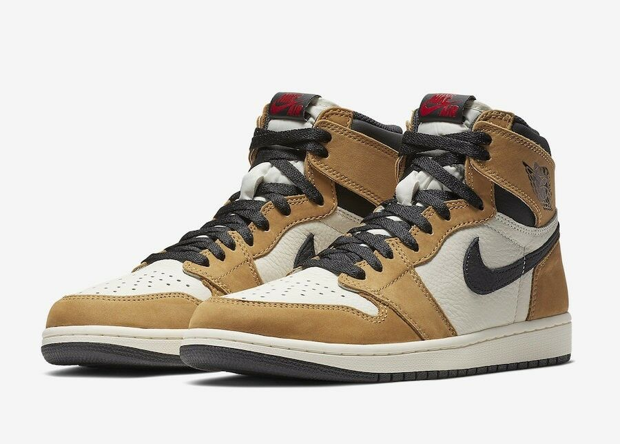 NİKE AİR JORDAN 1 RETRO HIGH OG ROOKIE OF THE YEAR US 10.5 AUTHENTIC  555088-700