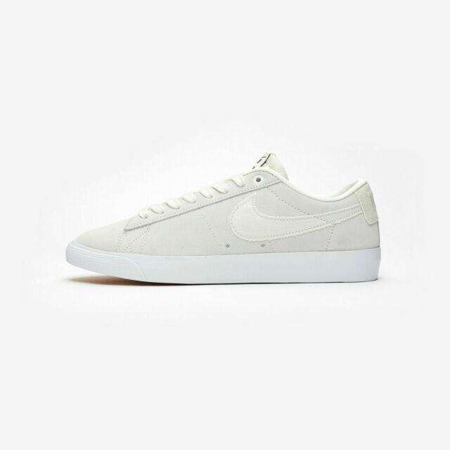 meet 21f4e 9b806 Nike SB Blazer Low GT Grant Taylor Summit White White 704939-100 Mens Size 9