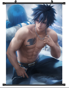 Anime Poster FAIRY TAIL Sakimichan Home Decor Wall Scroll cosplay 60*90cm A02