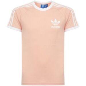 Detalles ver Para Adidas original Hombre 3 Camiseta California TamañoSMLXL de título Retro Rayas de BQ5371 Originals ymn0wPvN8O