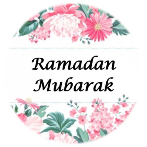 35 Pegatinas de Ramadán Mubarak Islam Floral Decoraciones Celebraciones Eid Regalo 347