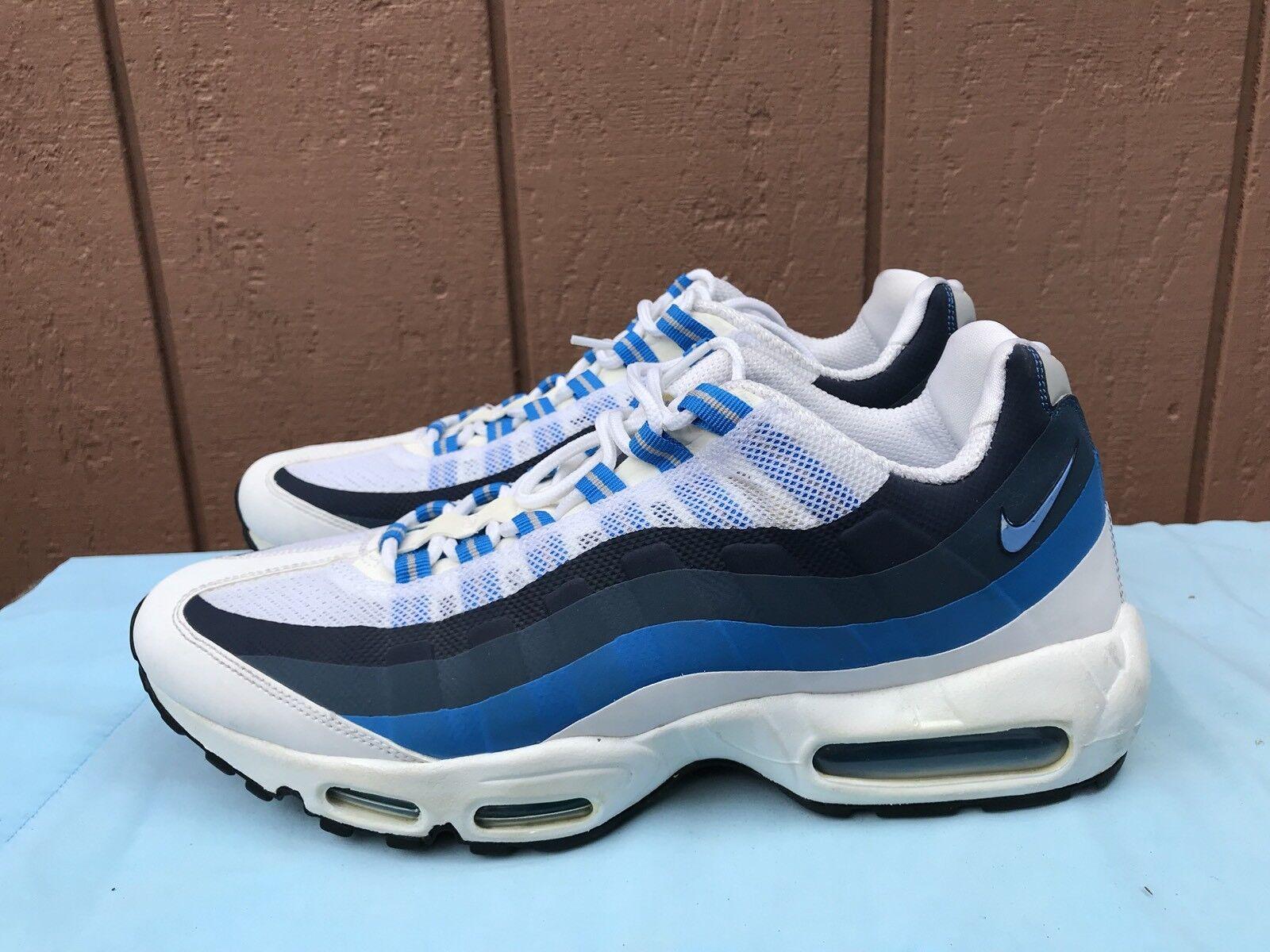 Euc!mens nike - cucire air max blu noi e scarpe bianche dimensioni noi blu 11,5 616190-101 a5 91c5a3