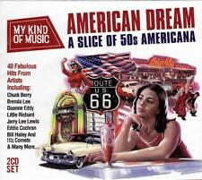 AMERICAN DREAM - A SLICE OF 50s AMERICANA (NEW SEALED 2CD)