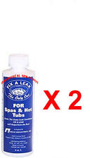 FIX-A-LEAK by Marlig spa & hot tub ** Pack-of-2 ** LEAK SEALER 8oz/250ml
