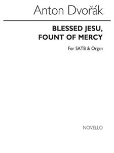 Antonin Dvorak Béni Jesu Fount Of Mercy Satb Satb Vocal Voice Music Book-afficher Le Titre D'origine Bon GoûT