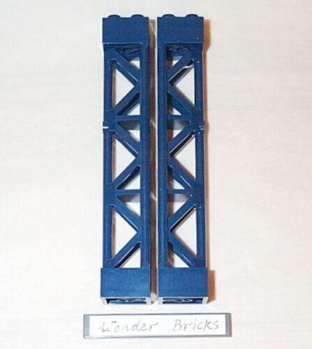 Lego Pillar Support 2 x 2 x 10 Girder Dark Blue 6860 Batcave