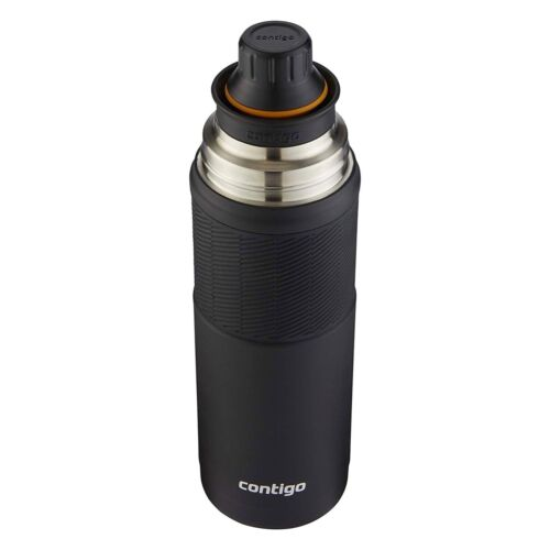 Contigo Thermalock Thermal Bottle 25oz Stainless Steel Vacuum-Insulated Black