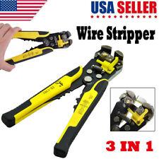 Professional Automatic Wire Striper Plier Cutter Crimper Stripping Terminal Tool