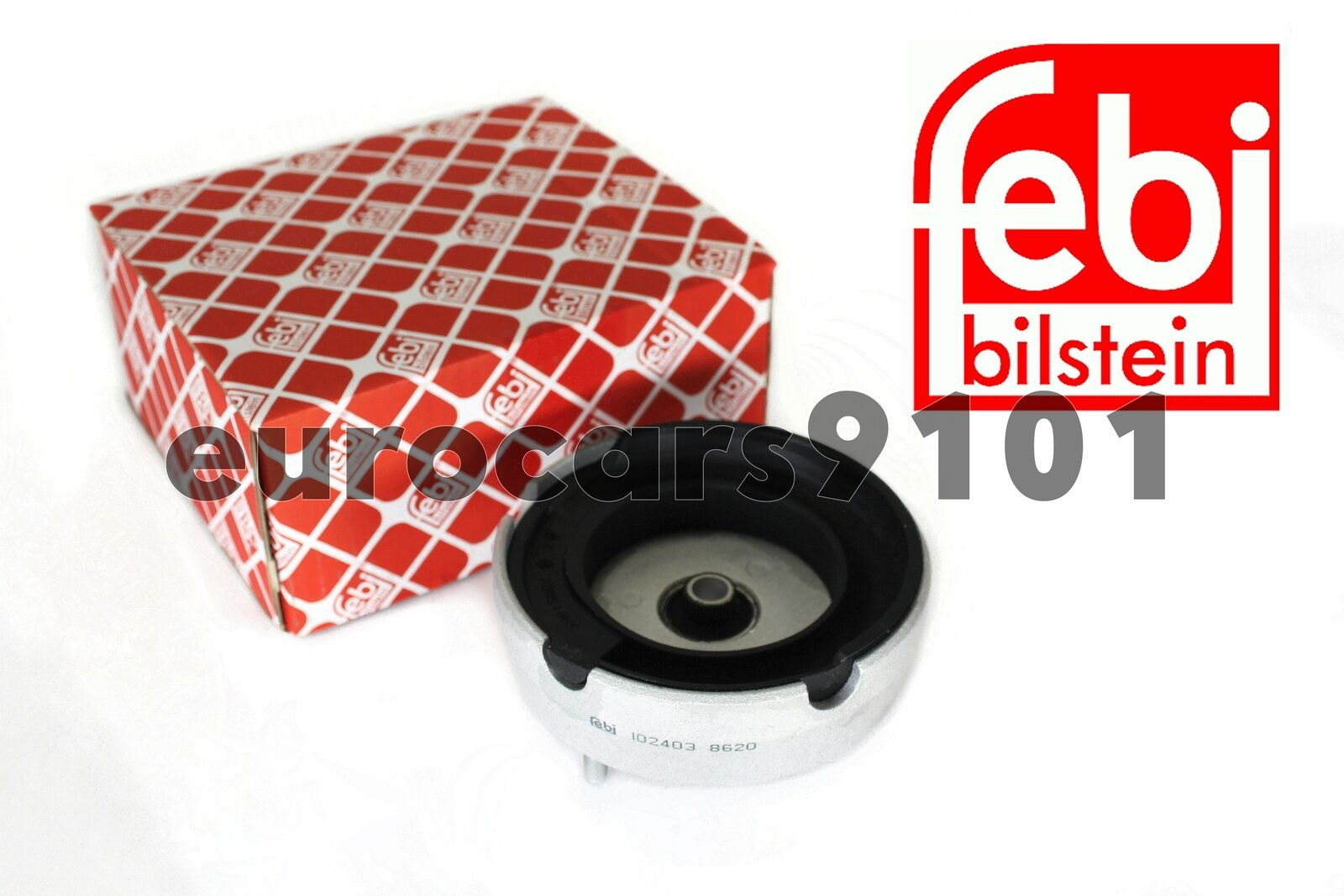 febi bilstein 17178 suspension strut mount without needle bearing Pack of 1 front axle both sides