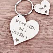 Item 3 Personalised Gift For Him Boyfriend Husband Men Birthday Anniversary Keyring K25