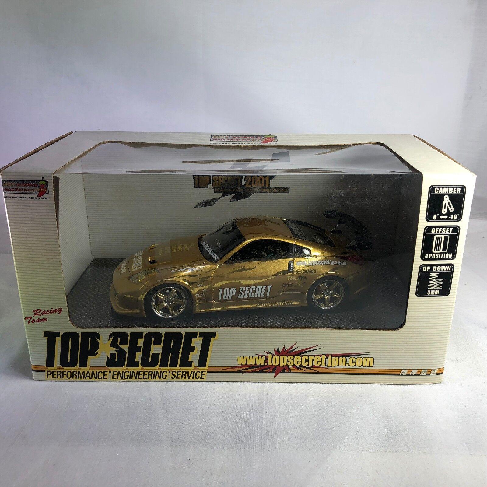 1 24 hotworks  MS042401F Nissan fairlday Z Z33 Top Secret 2001