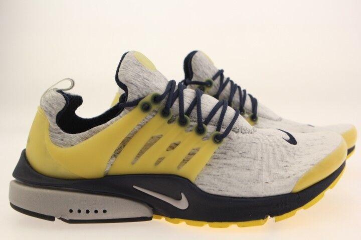 305919-041 Nike Men Air Presto   zen grey midnight navy varsity maize