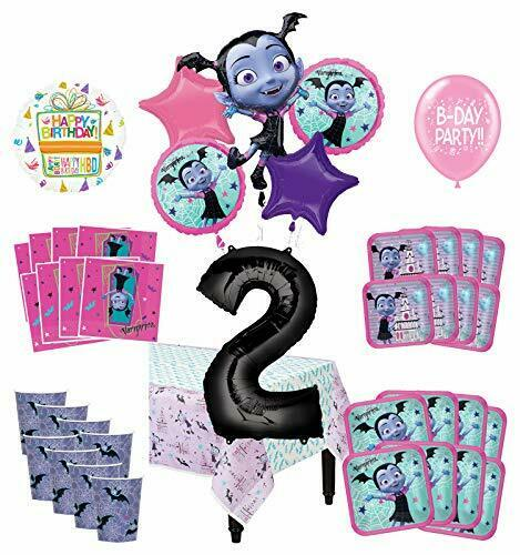 Mayflower produits Vampirina 2nd birthday Party Supplies 16 commentaires Décoration Kit