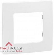 Lot de 10 plaques 1 poste Niloe blanc Legrand 665001