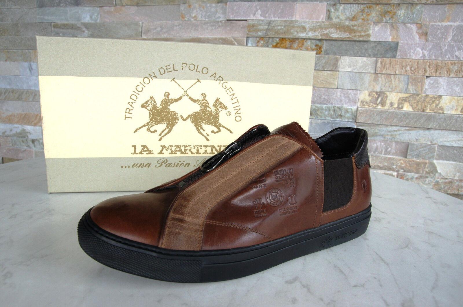 La MARTINA Taglia 42 scarpe da da da ginnastica Slipper Scarpe l4000150 Marroneee nuovo ex UVP ddac0d