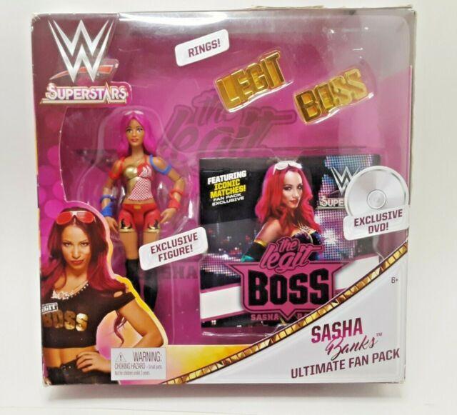 Autographed Sasha Banks Ultimate Fan Pack WWE Superstar 2017 MIP RARE for sale online