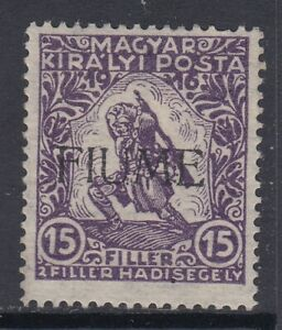 ITALY - Fiume - Sassone n.  2 MNH**