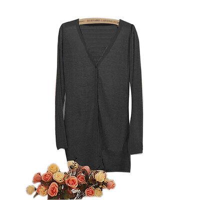Better Women Long Sleeve Knitwear Cardigan Shirt Coat Jacket Sweater Jumper JBCA