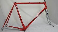 Vintage Mino DENTI TRIDENT steel Road Bike Frame set, 56cm, Columbus, Campagnolo