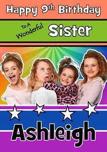 personalised birthday card mr tumble  grandaughter daughter grandson son a