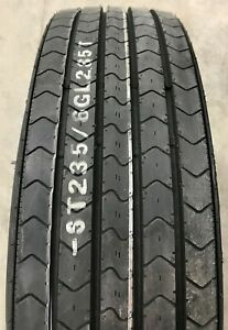 2 New Tires 235 80 16 K9 GL285T 14 ply All Steel Trailer ST ST235/80R16 Samson