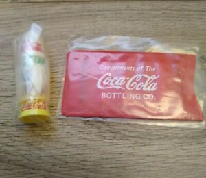 Coca-Cola-Sewing-Kit-amp-Thumb-Thimbles-Compliments-of-the-Coca-Cola-Bottling-Co