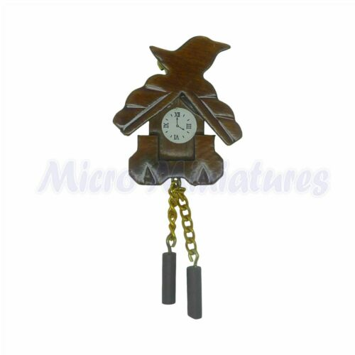 00429 Maison de poupées cuckoo clock échelle 1//12th