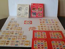 VERY RARE 1981 Vintage STRAWBERRY SHORTCAKE GAME BASKET 4 Games In 1 Parker Bros