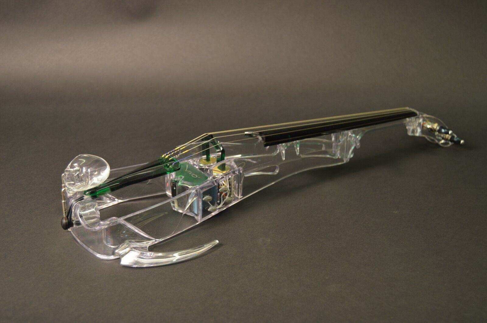 Ted Brewer Electric Violin Vivo2 Grün 4 String