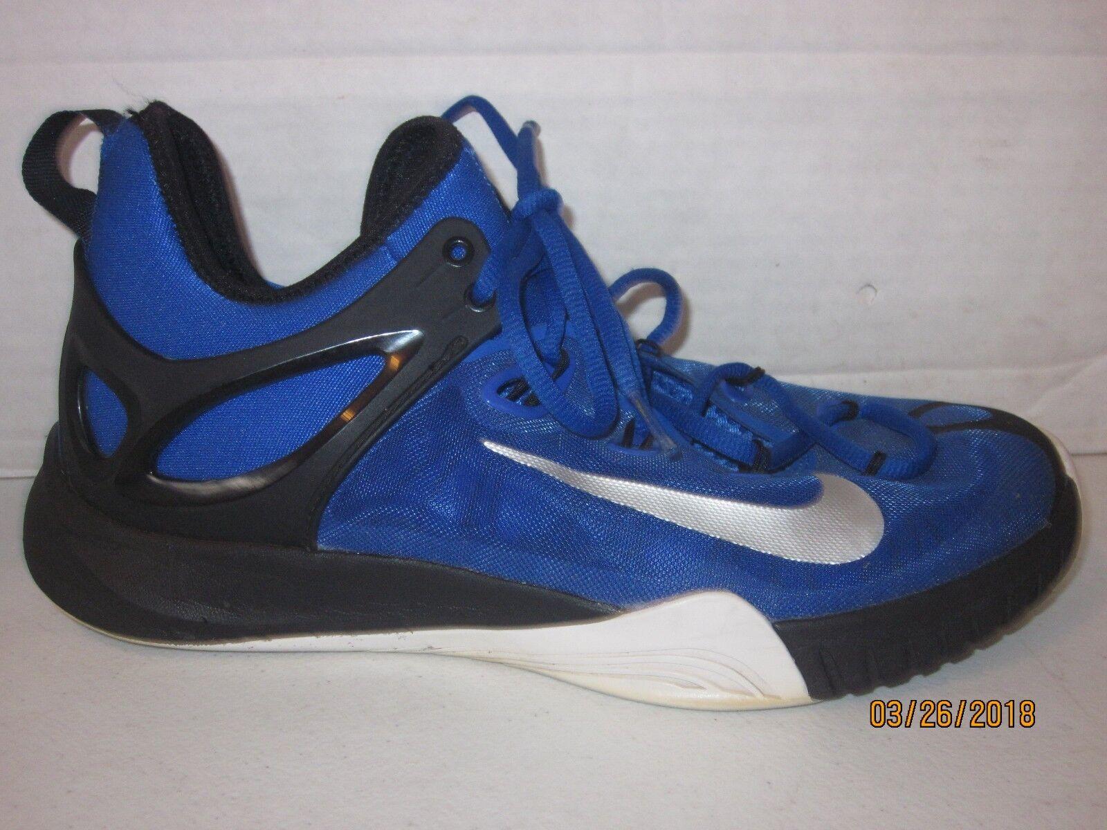 NIKE ZOOM HYPERREV 2014 ROYAL blueE MEN'S BASKETBALL SHOES 705370-400 SIZE 9 j28