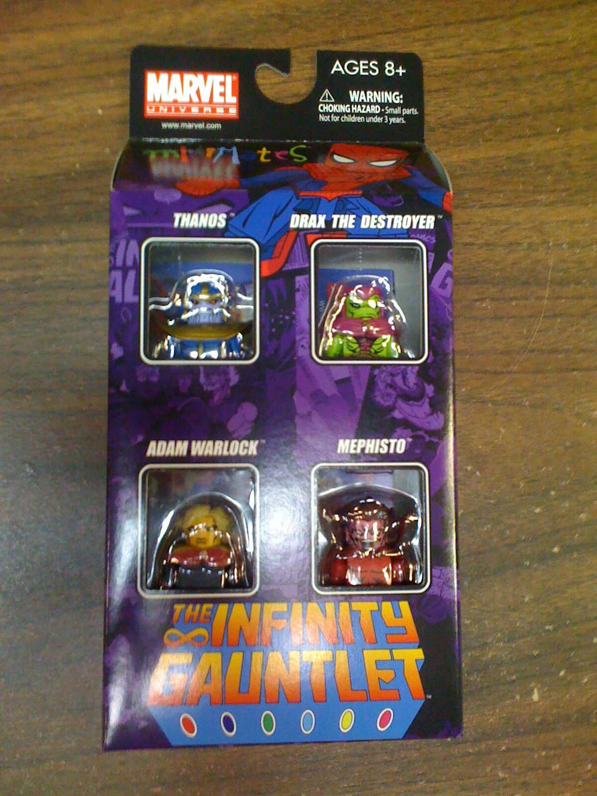 MARVEL Marvel Universe Infinity Gauntlet Minimates 4 Fig Set NEW