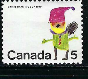 CANADA - SCOTT 519 - VFNH - CHRISTMAS - SANTA CLAUS - 1970