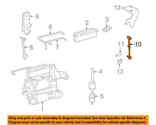 MERCEDES OEM 00-06 S500 Rear Suspension-Link 2203200032