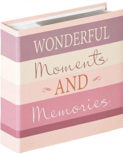 Walther me-338-w memo einsteckalbum Moments Wonderful 200x 13x18cm
