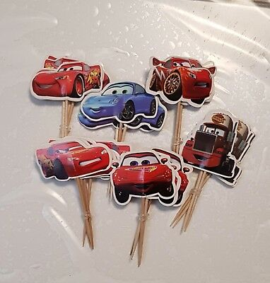 Home & Garden Other Baking Accessories Charitable 24 St Cars Car'stortentopper Cupcake Topper Kindergeburtstag Muffins