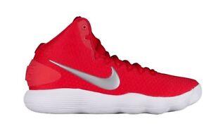 4c9b44c5e33e New Size 20 Nike Hyperdunk 2017 Men s University Red Metallic Silver ...